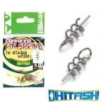 Фиксатор силиконовой приманки HITFISH Centering PIN Spring #M
